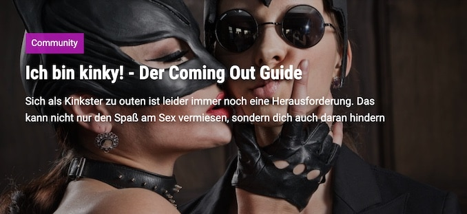 Der umfangreiche Coming Out Guide