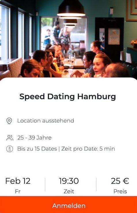 Speed dating in hamburg